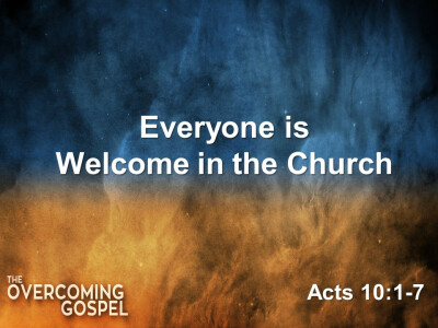 Everyone Is Welcome in the Church