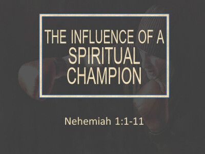 The Influence of a Spiritual Champion