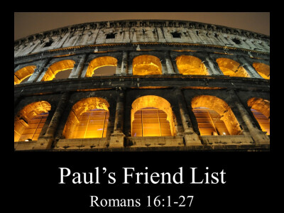 Paul's Friend List